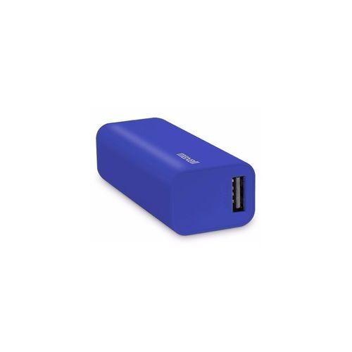 Batería Externa De 2600 mAh Azul