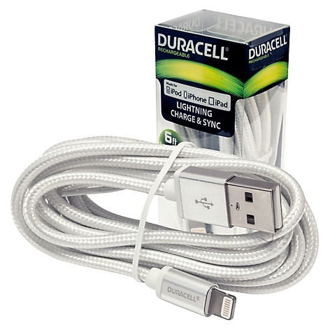 Cable Lightning A Usb Blanco 6Ft