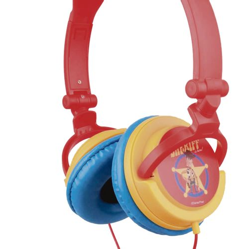 Audífonos On Ear DJ plegable diseño woody Toy Story