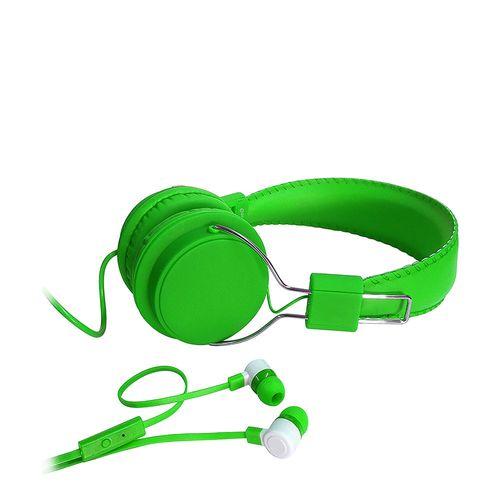 Combo 2 en 1 Audífono On Ear + In Ear con micrófono