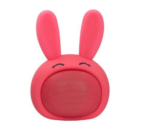 Parlante bluetooth Icutes batería recargable, rosado