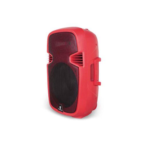 """Parlante bluetooth de 15"""" con ruedas, Subwoofer, entrada de micrófono y guitarra, ecualizador, incluye control remoto"""