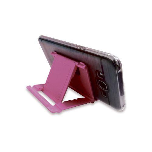 Soporte De Mesa Para Smartphone Rosado