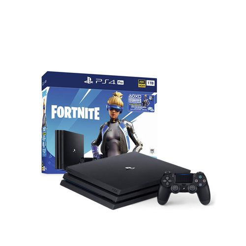 Consola PS4 PRO 4K 1TB Fortnite Bundle