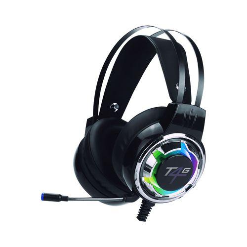Audífonos con Micrófono Gaming con Luces RGB y sonido Estéreo