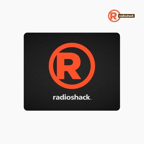 Mouse Pad Color Negro Radioshack