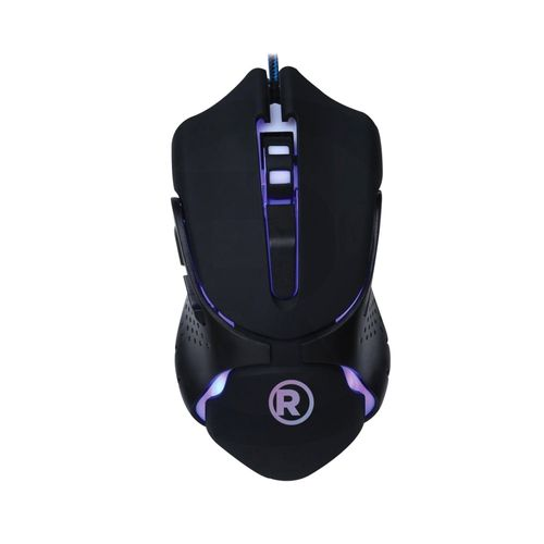 Mouse Usb Gamer 6 Botones Led 7 Colores