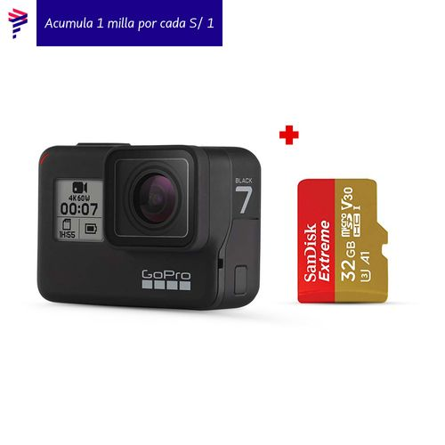 Hero7 Black + Memoria 32 Gb