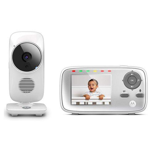 """Monitor de Video Para Bebés con Pantalla de 2.8 """", Visión Nocturna Por Infrarrojos, Zoom Digital y Audio Bidireccional Cristalino"""