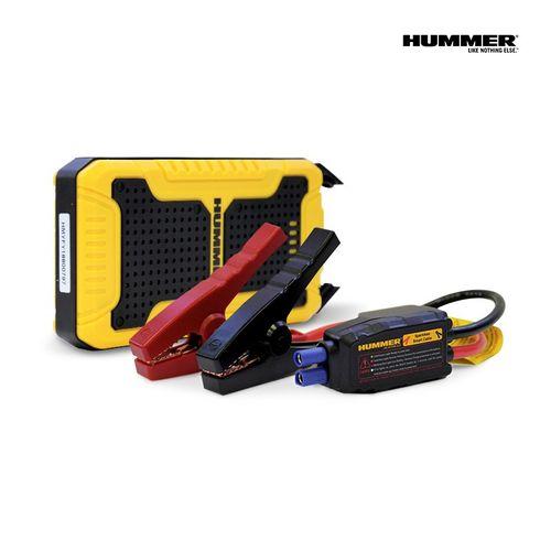 Arrancador de Batería Para Autos de 8,000 Mah, Incluye: Juego de Cables Cocodrilo, Cable Micro Usb A Usb y Estuche de Neopreno