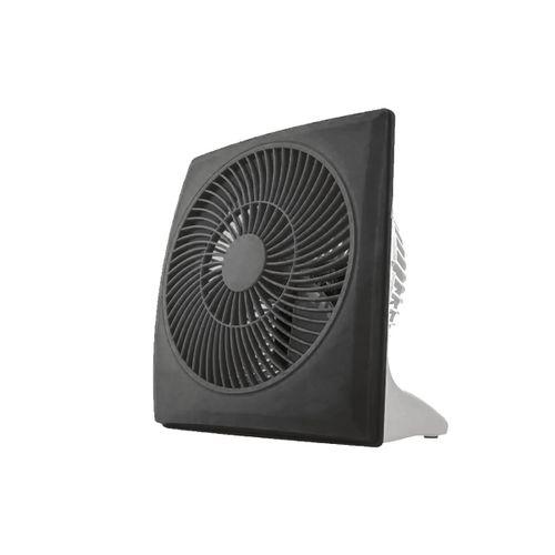 Mini Ventilador 10cm Cuadrado Negro