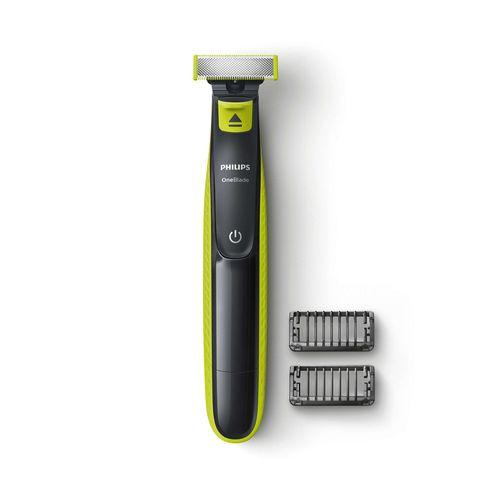 Afeitadora One Blade Recargable, Recorta  y Modela la Barba en 2 Niveles de Corte