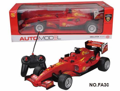 Carro a Cr Formula Uno 1:10 Plateado O Rojo