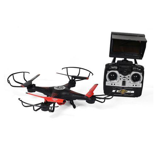 Drone Fast Lane Wifi Cam 480P Control Pantalla Lcd Y Maleta