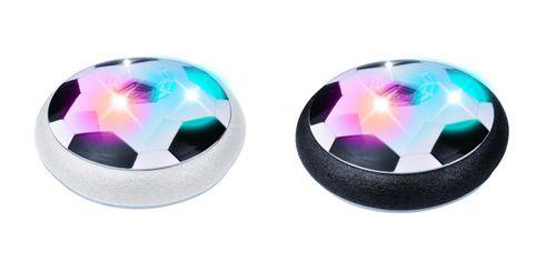 Hover Ball: Pelota Flotante con Luces LED y Bordes de Espuma, Ideal para Jugar Dentro de Casa, Mide 18cm de Diámetro