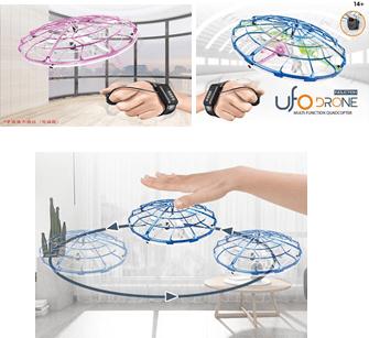 Drone Ufo Led Con Sensor De Gravedad