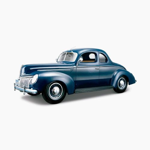 Ford Deluxe Coupe 1939 Azul