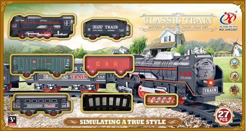 Tren clásico 27 piezas 3 vagones