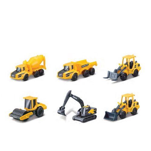 """Set de 6 Vehículos de Construcción a Escala 3"""""""