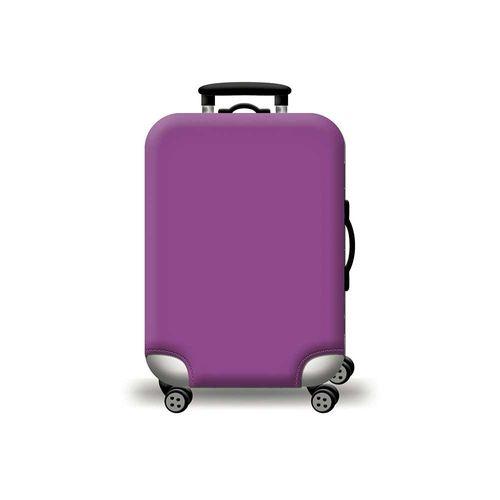 Cubierta protectora para maleta morado  M