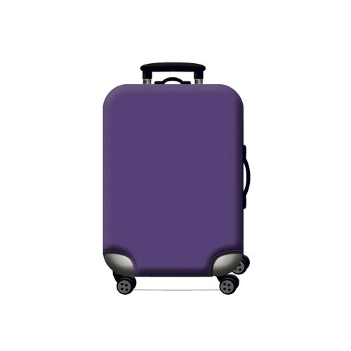Cubierta protectora para maleta morado  S