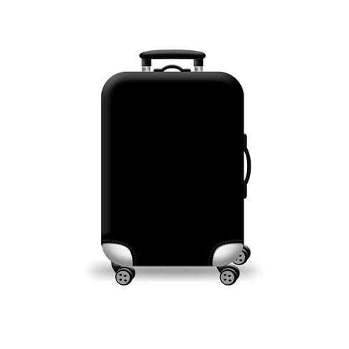 Cubierta protectora para maleta negro S