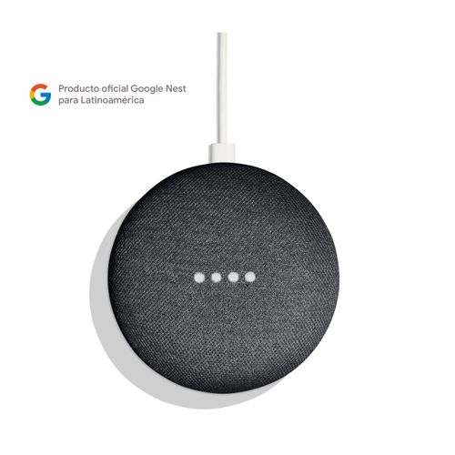 Home Mini carbón altavoz inteligente con control por voz