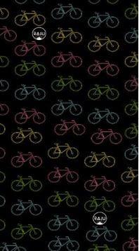 Bandana diseño bicicleta colores, de 100% Poliéster sin costuras, tan versatil que se puede usar de más de 10 formas distintas., medidas: 25 x 50 cm