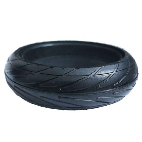 "Llanta sólida negra para scooter de 8"", ideal para scooter Ninebot ES1, ES2, ES4"