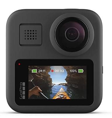 Go Pro MAX, Resistente al agua, Toma Fotos 360° y Tradicionales, Pantalla Táctil Esférica, Estabilización durante Transmisión en Vivo