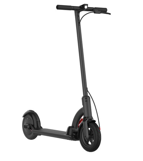 "Scooter eléctrico N4 negro, autonomía 20km, vel. máx. 25 km/h, motor 300W, llantas de 8.5"" con cámara, tolerancia 100 kg, freno de disco, pantalla LED"