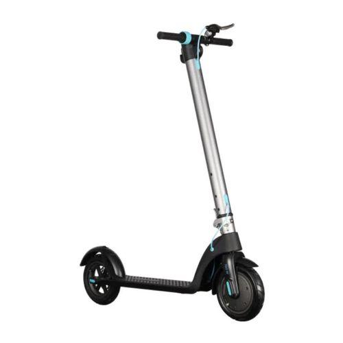 """Scooter Electrico Silver N2, Autonomía 10km, Vel. Máxima 25 km/h, Tolerancia 100kg, Llantas 8""""(Aire), Potencia 250W, Luz y Timbre, Batería extraíble"""
