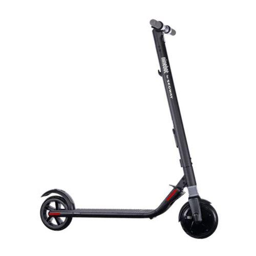 """Scooter Eléctrico Ninebot ES1, negro, autonomía 20-25 km, vel. máx: 20 km/h, tolerancia, 100 kg, llantas de 8"""", motor: 250W, tiempo de carga: 3-4 hrs"""