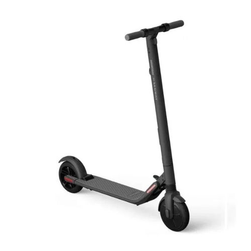 Scooter eléctrico plegable Ninebot ES2, color negro, autonomía 25 km, vel. máx: 25 km/h, tolerancia 100kg, 300W, luz delantera, lateral y posterior