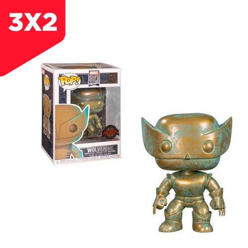 POP MARVEL- MARVEL 80th - WOLVERINE (PATINA)