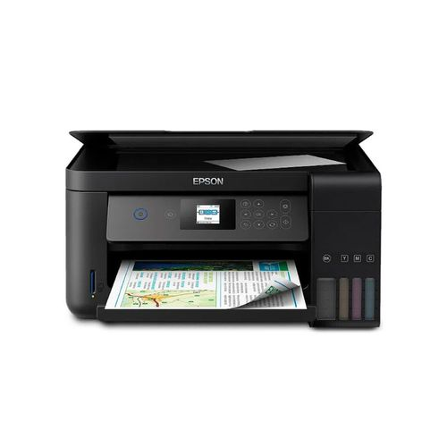Impresora Multifuncional EcoTank L4160 - Duplex, tanque de tinta a color para negocio, Wifi Direct