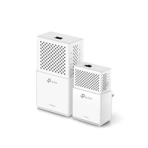 Kit de Adaptadores Powerline Gigabit AV1000 Wi-Fi AC Doble Banda TP LINK