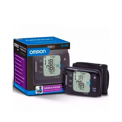 Tensiómetro Automático Para Muñeca, Modelo Elite+, Detecta Latidos Irregulares y 100 Memorias
