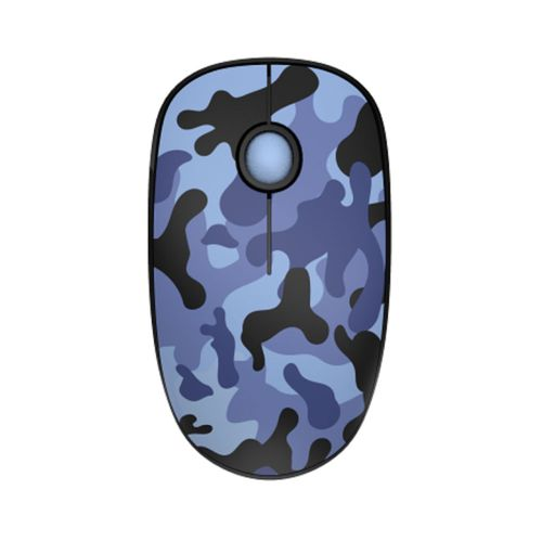 Mouse Inalámbrico Silencioso 3 Botones Diseño Camuflado 1500 DPI Teraware