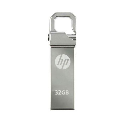 Memoria USB Flash Drive 2.0 32GB Metálica con Gancho