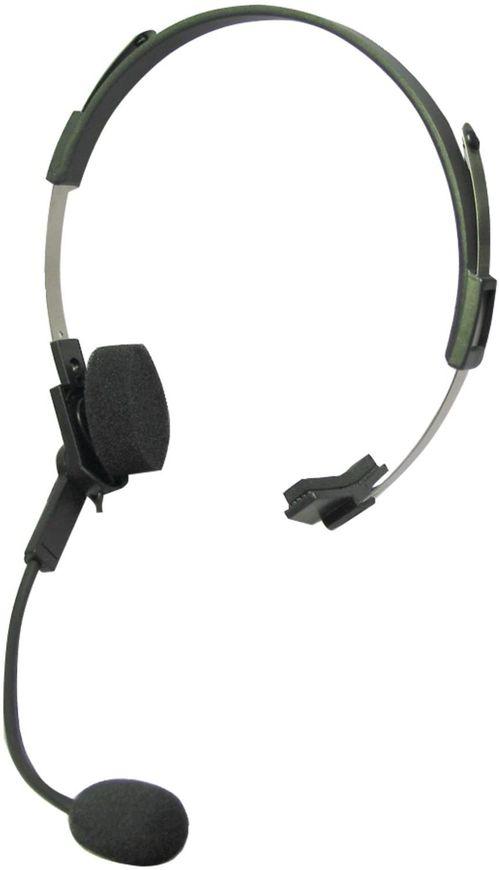 Auriculares de diadema con micrófono giratorio, función de transmisión activada por voz (VOX), para radios FRS Motorola Talkabout