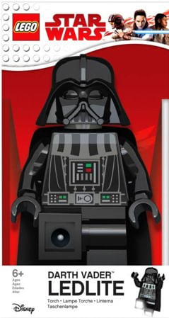 Lego Star Wars lampara escritorio Darth Vader