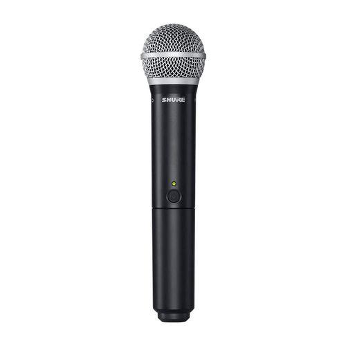 Sistema inalámbrico para voz BLX24-PG58 con micrófono de mano