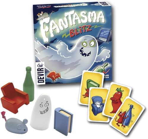 Juego de mesa Devir Fantasma Blitz 8+