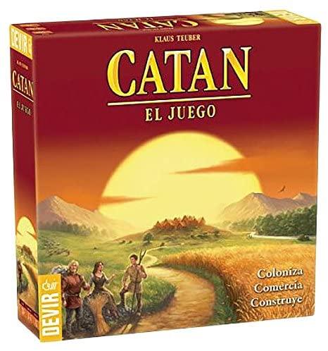 Juego de estrategia Devir BGCatan Catán 10+