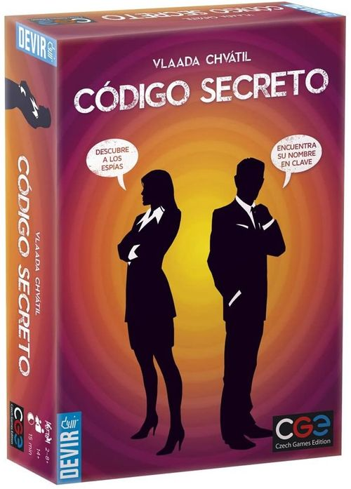 Juego de mesa Devir BGCOSE Código secreto 14+