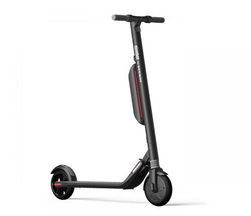 """E-scooter Ninebot ES3, autonomía 45km, vel máx 25 km/h, doble batería, luz delantera, llanta sólida 8"""",freno eléctrico y mecánico,suspensión delantera"""