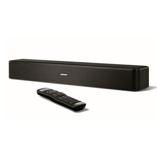 Barra de sonido para TV Solo 5 bluetooth con control remoto universal, modo de diálogo, control de graves, conexión al televisor, color Negro