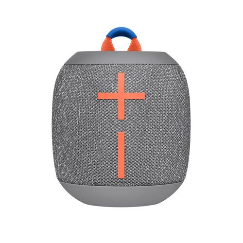Parlante Bluetooth portátil WONDERBOOM 2, sonido 360°, IP67 impermeable, modo Outdoor, Ice Crushed Grey