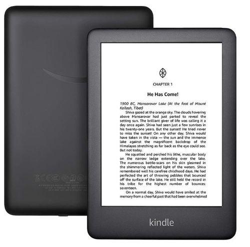 """Tablet Amazon Kindle 6"""", 8gb, pantalla de 167pp sin reflejos, luz frontal para mejorar la lectura de noche, negro"""